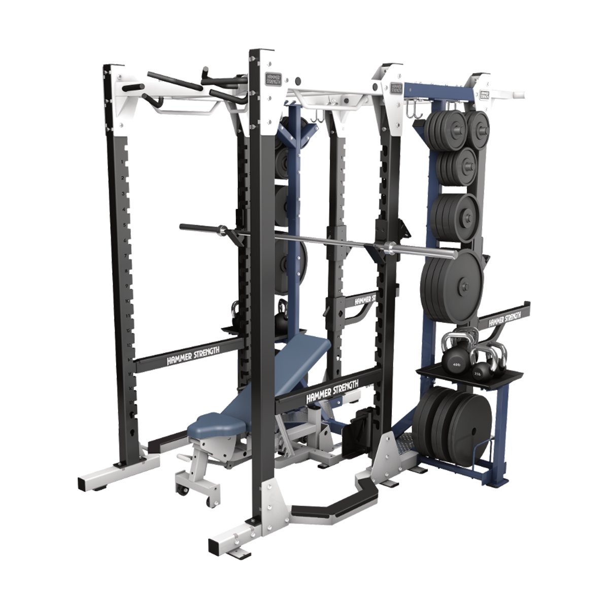 hammer strength hd elite power rack life fitness. Black Bedroom Furniture Sets. Home Design Ideas